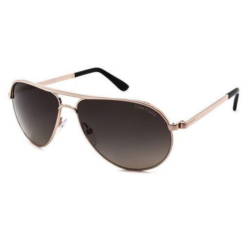 Tom ford Okulary słoneczne ft0144 marko polarized 28d