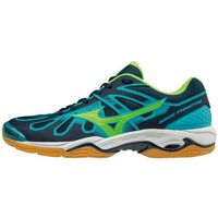 wave phantom blue green marki Mizuno