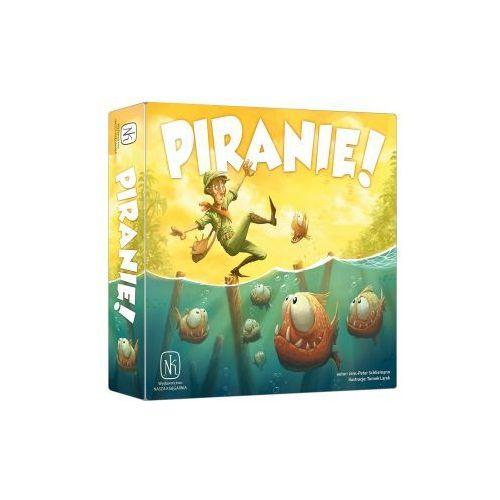 Piranie! gra planszowa marki Nasza księgarnia