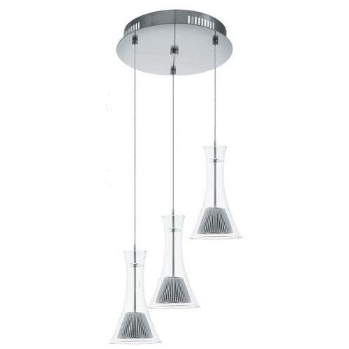 Eglo 93792 - LED lampa wisząca MUSERO 3xLED/5,4W/230V, kolor Przezroczysty