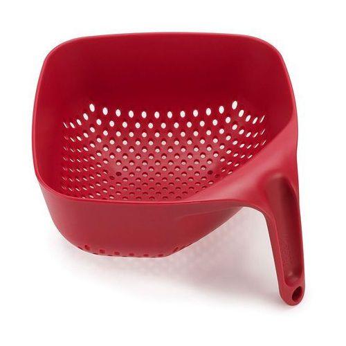 Joseph joseph Durszlak / cedzak plastikowy czerwony odbierz rabat 5% na pierwsze zakupy (5028420400892)