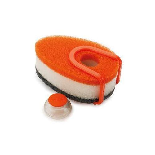 Joseph joseph Gąbki do zmywania z pojemnikiem  pomarańczowe zamów przez telefon 514 003 430 (5028420850734)