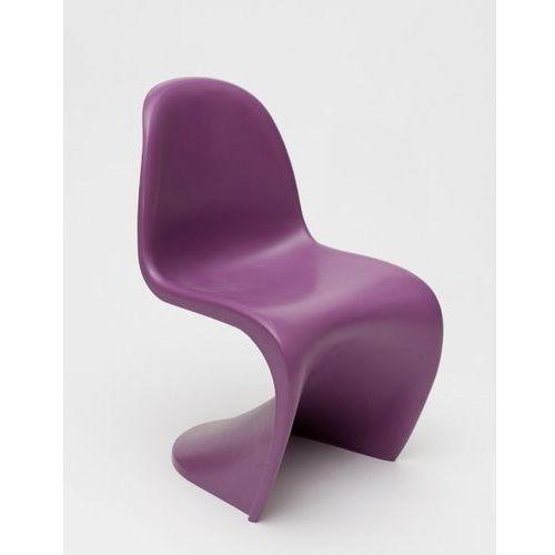 Krzesło Pantom junior fiolet, PantonJun_fiolet