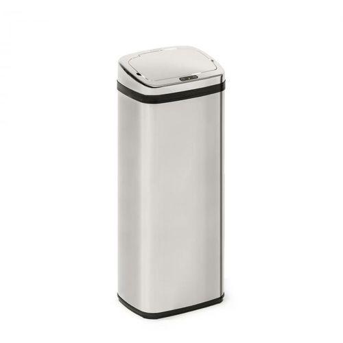 cleansmann, kosz na śmieci, czujnik, 50 litrów, na worki na śmieci, abs, chromowany marki Klarstein