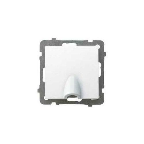 OKAZJA - Przyłącz kablowy Ospel AS GPPK-1G/M/00 biały (5907577477790)