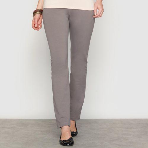 Elastyczne spodnie z dzianiny dresowej ze stretchem, towar z kategorii: Pozostała moda i styl