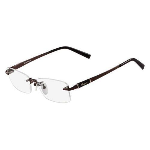 Salvatore ferragamo Okulary korekcyjne  sf 2527a 210