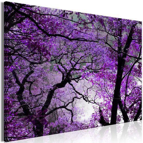 Obraz - fioletowe popołudnie (1-częściowy) szeroki marki Artgeist