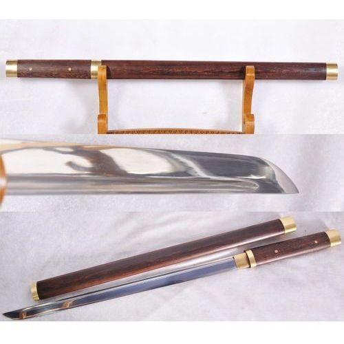 Kuźnia mieczy samurajskich Ninja wakizashi japonia funkcjonalny stal 1060 kod jwt330