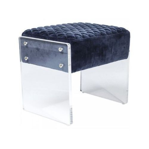 taboret stich visible aksamit - 80662 marki Kare design