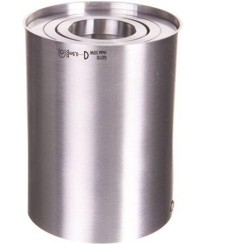Oprawa stropowa natynkowa BORD DLP-50-AL srebrna GU10 KANLUX (5905339225504)
