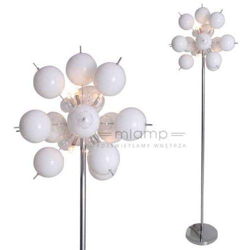 Nave Stojąca lampa podłogowa explosion 2027923 dekoracyjna oprawa kulki bubbles bombki białe