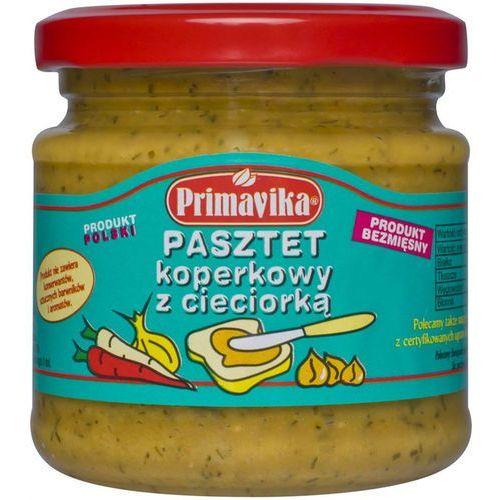 Primavika Pasztet koperkowy z cieciorką 170g -
