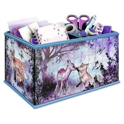Ravensburger 3D Puzzle - Edycja Girly Girl: Pudełko na drobiazgi - Animal Trend (4005556120840)