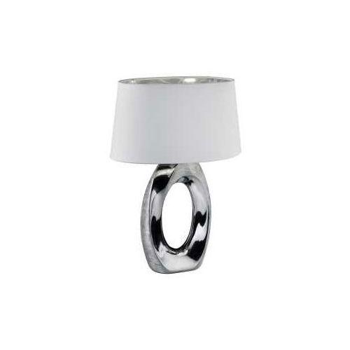 Reality TABA Lampa stołowa Srebrny, 1-punktowy - Nowoczesny - Obszar wewnętrzny - TABA - Czas dostawy: od 3-6 dni roboczych (4017807377514)