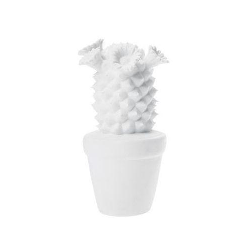 KARE Design:: Dekoracyjny Cactus - Kare design:: Dekoracyjny Kaktus ||biały ||srebrny