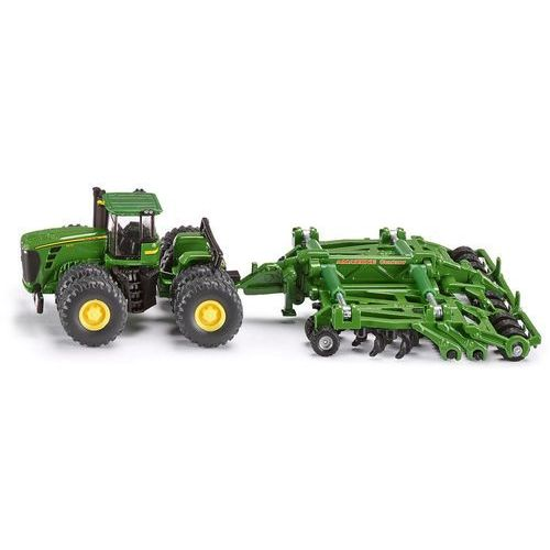 Zabawka SIKU Farmer Traktor Z Kultywatorem John Deere