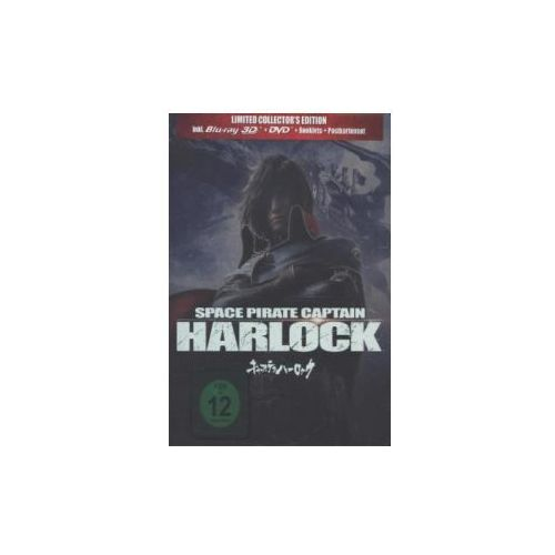 Space Pirate Captain Harlock, Limited Collector's Edition, 1 Blu-ray u. 1 DVD