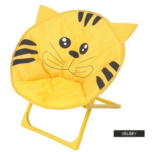 SELSEY Krzesełko składane Small Cat (5903025284415)