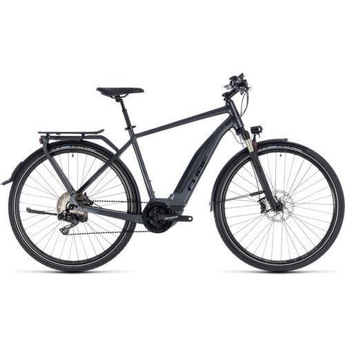 """Cube touring hybrid sl 500 rower elektryczny trekkingowy szary 54cm (28"""") 2018 rowery trekkingowe (4054571050526)"""