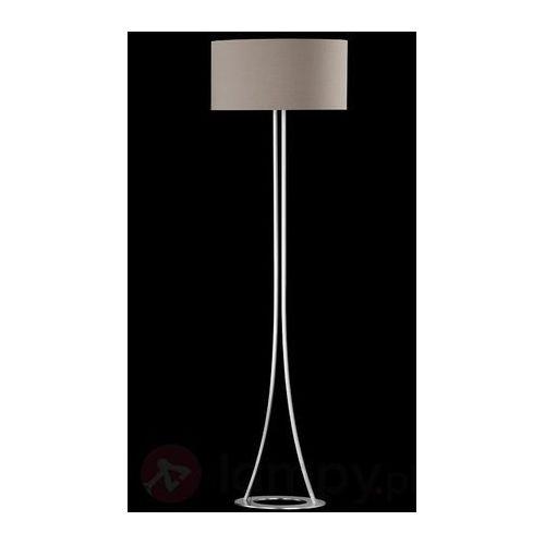 Honsel Mira lampa stojąca Nikiel matowy, 2-punktowe - Dworek - Obszar wewnętrzny - Mira - Czas dostawy: od 2-4 dni roboczych (4001133441025)