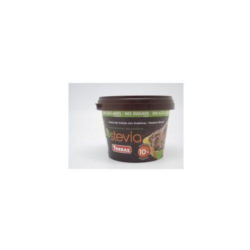 Krem kakaowo - orzechowy ze stewią 200g marki Torras