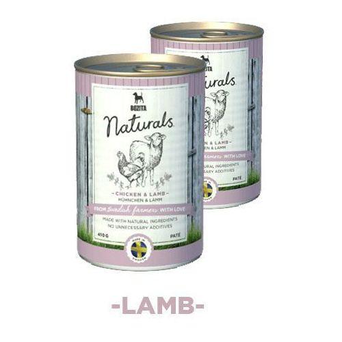 Bozita Naturals z kurczakiem & jagnięciną - karma dla psów, 410 g
