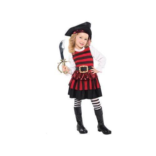 Amscan Kostium piratka dla dziewczynki - 5/7 lat (116)
