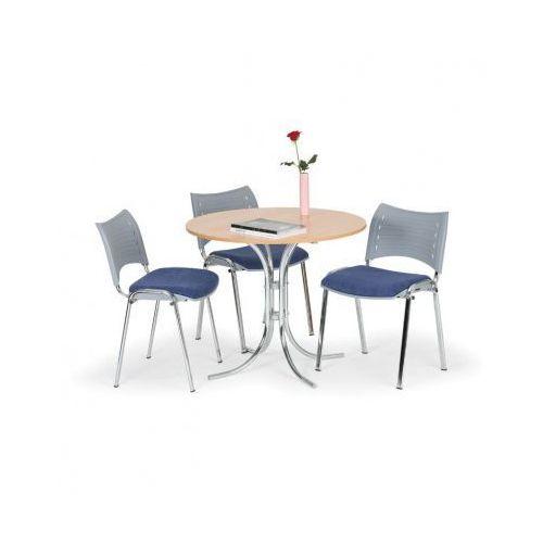 Plastikowe krzesło SMART - chromowane nogi