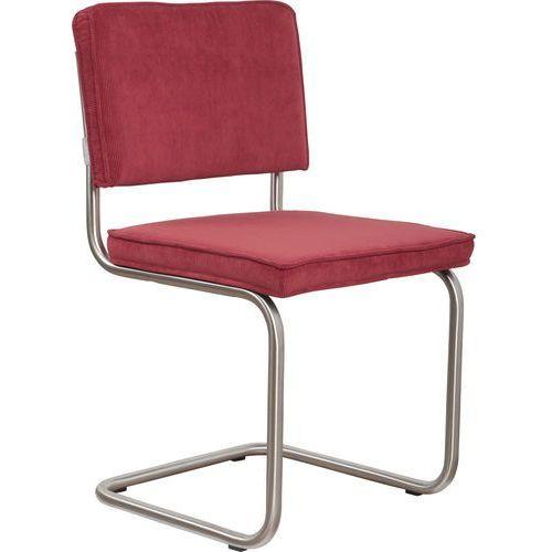 Zuiver krzesło ridge brushed rib czerwone 21a 1100079 (8718548014510)