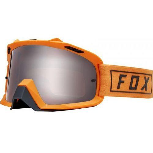 FOX GOGLE AIR SPACE GASOLINE ORANGE FLAME SZYBA OR