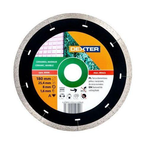 Dexter Tarcza diamentowa 180 x 25.4/22.2 mm ciągła