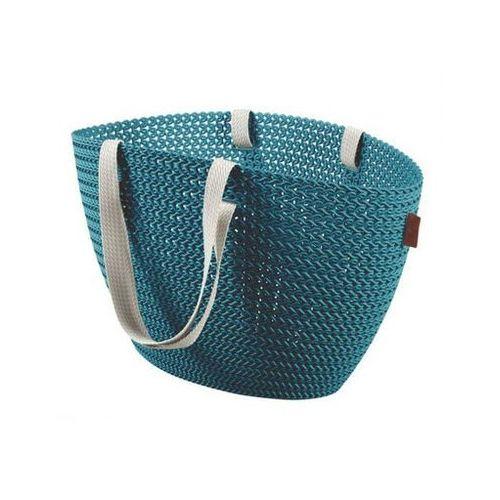 koszyk emily knit niebieski - darmowa dostawa od 95 zł! marki Curver
