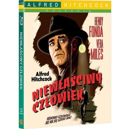 Niewłaściwy człowiek (Blu-Ray) - Alfred Hitchcock (7321999340445)