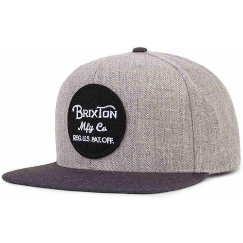 czapka z daszkiem BRIXTON - Wheeler Light Heather Grey/Charcoal (0332) rozmiar: OS