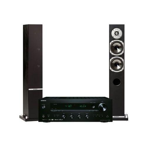 Zestaw stereo ONKYO TX-8250B + QUADRAL Rhodium 500 Czarny + DARMOWY TRANSPORT!