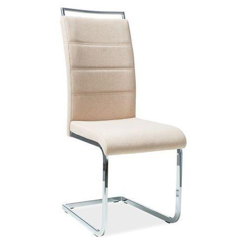 Krzesło h441 beż materiał marki Signal meble