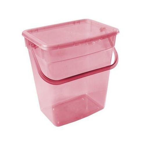 Pojemnik na proszek PLAST TEAM 10 l Czerwony (5707672724559)