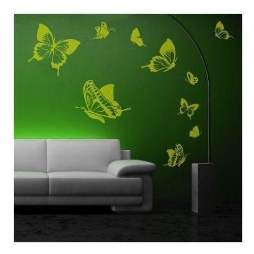 Wally - piękno dekoracji Naklejka zestaw motyle 1135