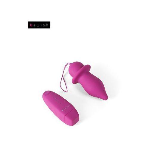 Wibrujący korek B Swish - Bfilled Classic Unleashed, różowy