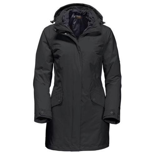 Płaszcz 3w1 salisbury plains women marki Jack wolfskin