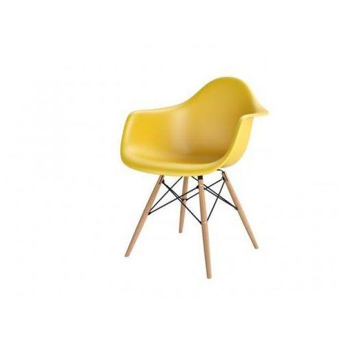 Krzesło p018w pp inspirowane daw - zielony ciemny marki D2.design