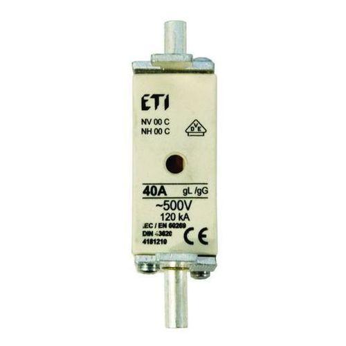 Eti Wkładka topikowa zwłoczna gg wt-00c 25a, bezpiecznik przemysłowy (5904722990906)