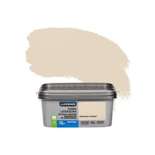 Farba wewnętrzna narażonych na zabrudzenia 2,5 l migdałowy aromat marki Luxens