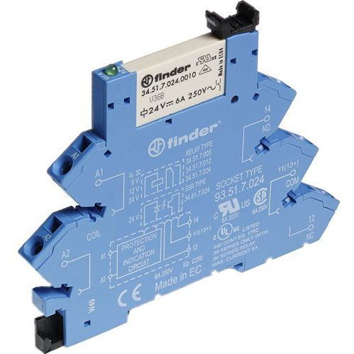Przekaźnikowy moduł sprzęgający Finder 38.61.0.024.5060 (8012823238586)