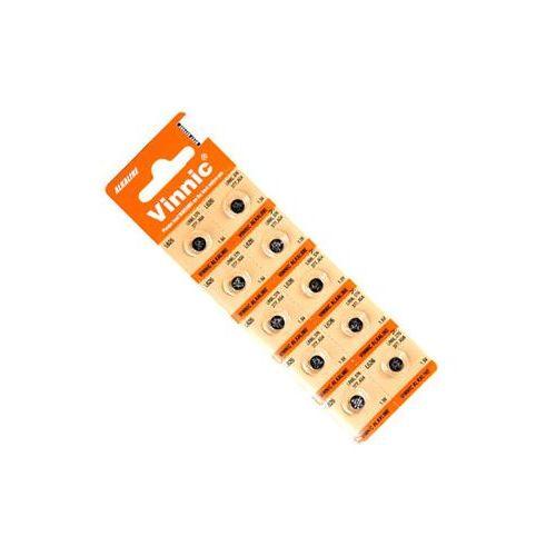 Vinnic 10 x bateria alkaliczna mini g0 / ag0 / l521 (4898338000658)