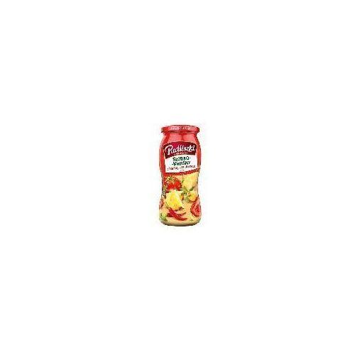 Pudliszki Sos do ryżu słodko-kwaśny pikantny 500 g  (5900783003579)