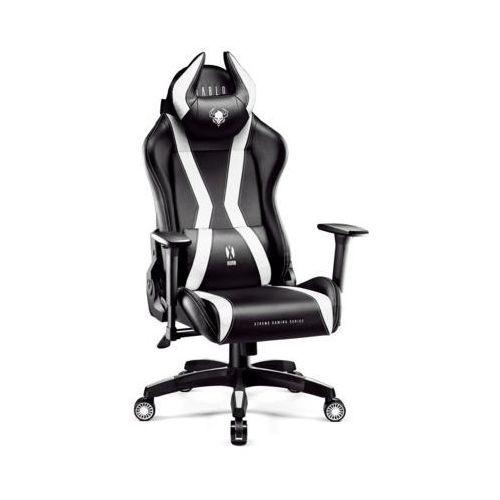 Fotel x-one horn (l) czarno-biały marki Diablo chairs