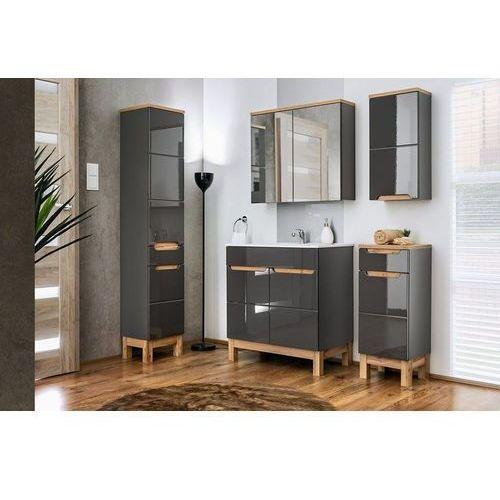 Zestaw mebli łazienkowych bali grey set 80 cm marki Comad