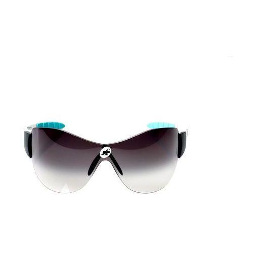 Assos zegho werksmannschaft okulary rowerowe biały/czarny 2018 okulary sportowe (2220000014106)